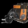 Canyon simple USB headset, inline remote, black...